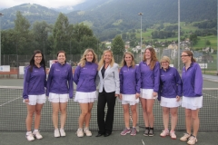 Mannschaftsfoto IC Damen